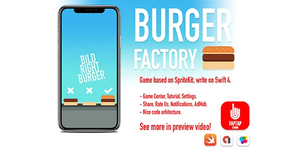 Make A Burger App With Mobile App Template from CodeCanyon