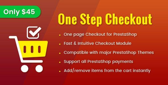 One Step Checkout - Smart Responsive PrestaShop 1.7 Module