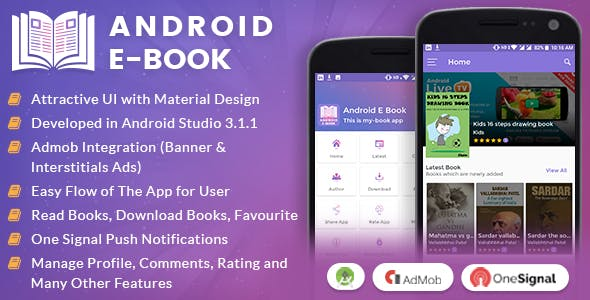 Ebook plugins code scripts from codecanyon android e book app with material design fandeluxe Gallery