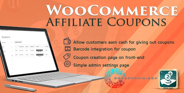 Affiliate coupon plugins code scripts from codecanyon woocommerce affiliates coupon stopboris Choice Image