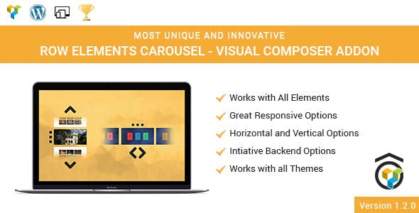Row Elements Carousel Addon for WPBakery Page Builder (formerly