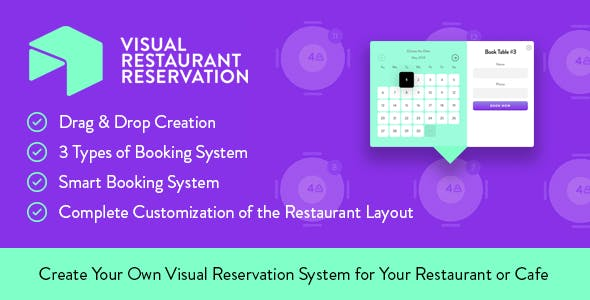 Table Reservation Plugins Code Scripts From CodeCanyon - Table reservation system