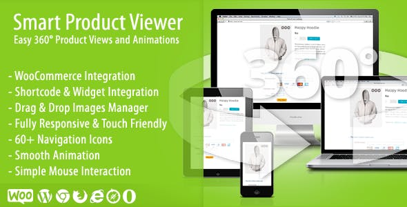 Smart Product Viewer - 360º Animation Plugin by topdevs | CodeCanyon