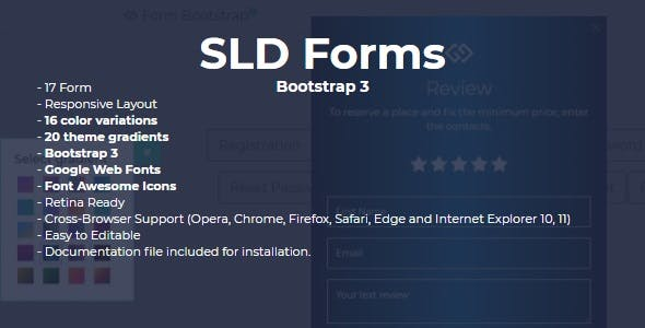 Css Forms From Codecanyon