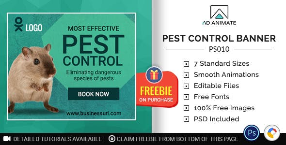 professional services pest control banner ps010