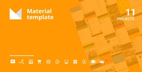 Android Material UI Template 4.1