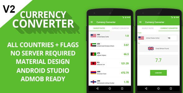Currency Converter Admob Ready Codecanyon Item For