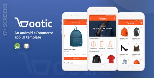download Bootic - an ultimate e-commerce UI template nulled