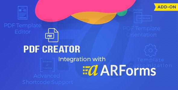 pdf creator for arforms by reputeinfosystems codecanyon