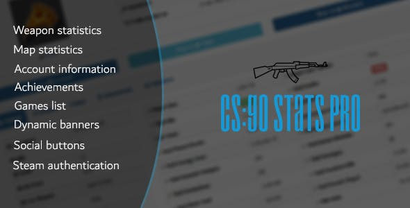 csgo banner stats plugins code script from codecanyon