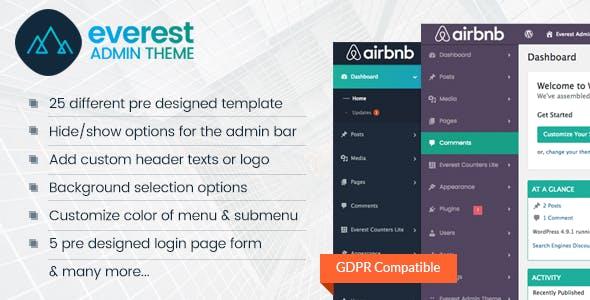 WordPress Admin Theme Plugins, Code & Scripts from CodeCanyon