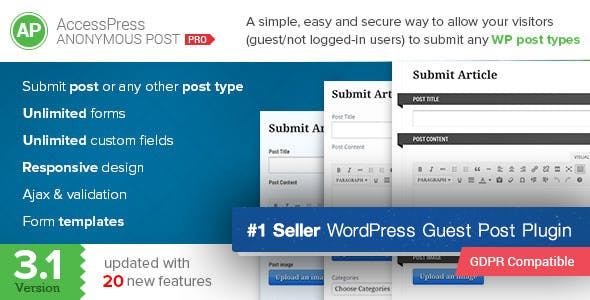 Guest Post Plugins, Code & Scripts from CodeCanyon