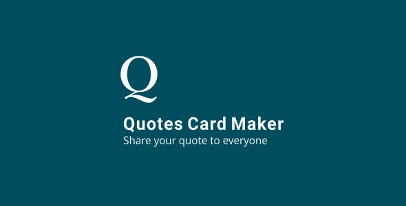 Quotes Maker Plugins Code Script From CodeCanyon Inspiration Quotes Maker