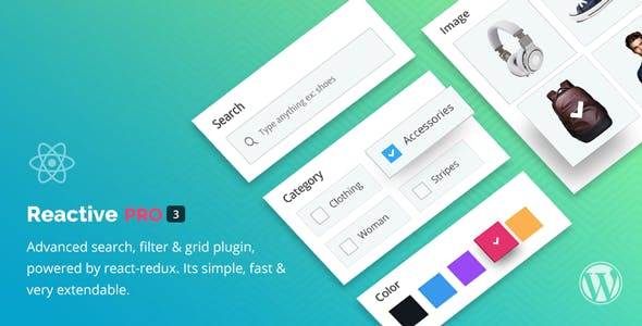 Reactive Search Pro - Advanced WordPress Search Filter Map & Grid by
