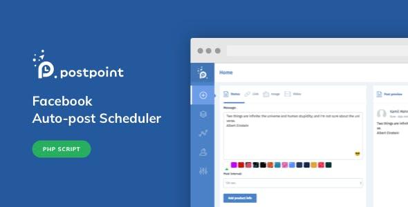 Facebook Auto Post & Scheduler - PostPoint Facebook