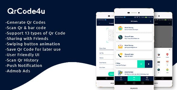 qr code android app Free Download | Envato Nulled Script