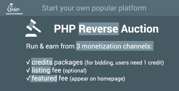 Auction Php Scripts From Codecanyon