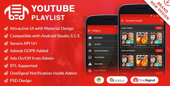 android youtube Free Download | Envato Nulled Script | Themeforest