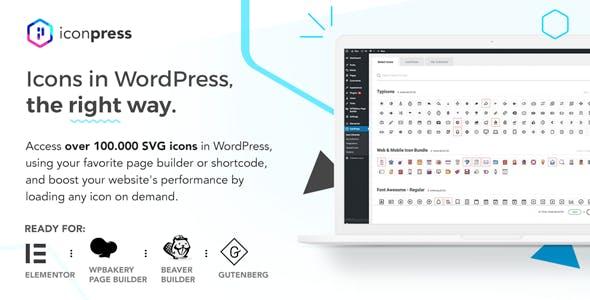 IconPress Pro - Icon Management for WordPress