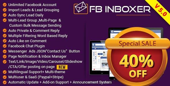 Fb Inbox Auto Private Reply and Auto Reply PHP Script