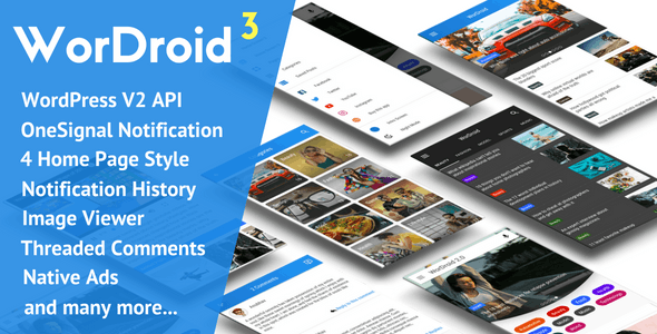 WorDroid - Full Native WordPress Blog App by hashanubhav | CodeCanyon