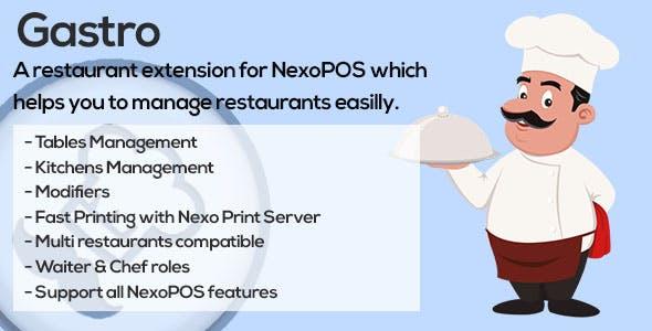 Gastro - Restaurant Extension for NexoPOS