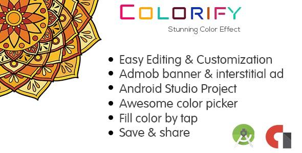 Colorify Mandala Coloring Book