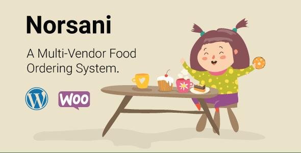 Norsani Multi-vendor food ordering system by MahmudHamid