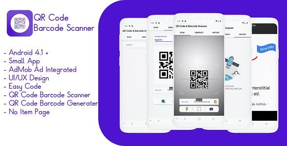 Make A Scanner App With Mobile App Templates from CodeCanyon