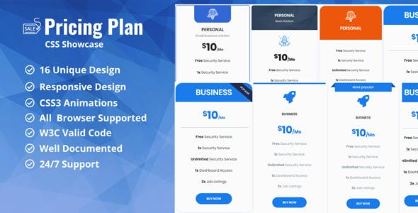 Pricing Table Generator Plugins Code Scripts From Codecanyon