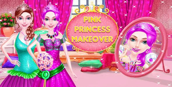 Pink Princess Makeup Salon Spa- Makeover Girls Games - CodeCanyon Item for Sale