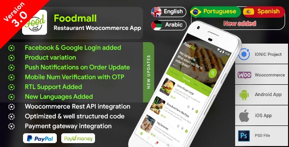 FOOD APP Free Download | Envato Nulled Script | Themeforest and