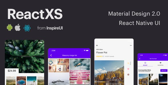 download React Native UIKit for Material Design 2 0 nulled