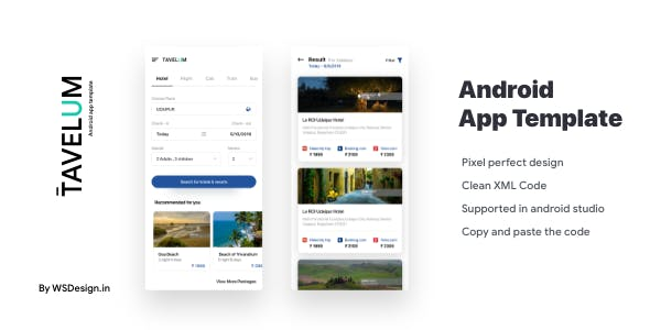 Make A App With Mobile App Templates from CodeCanyon