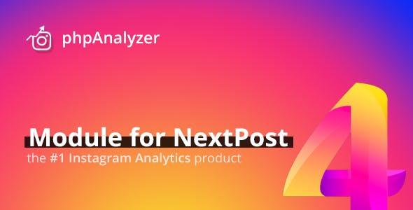 phpAnalyzer for NextPost - Professional Instagram Statistics & Analytics