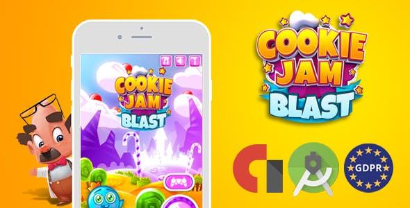 download cookie jam blast (Android Studio + Admob
