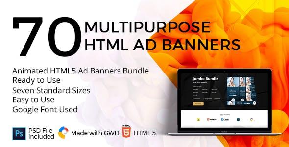 google web designer html5 ad templates from codecanyon