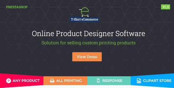 PrestaShop Custom Product Designer