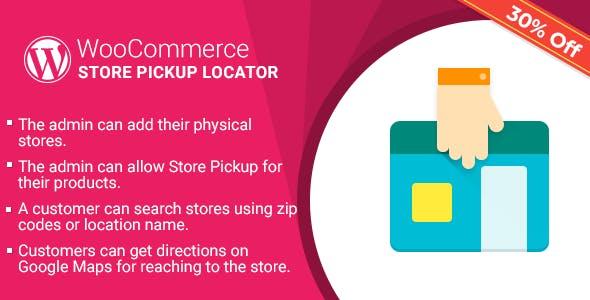 Wordpress Woocommerce Pickup Locator Plugin Codecanyon Item For