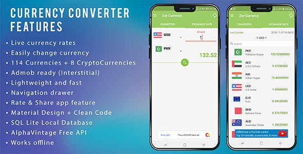 Currency Converter Android Admob Integration