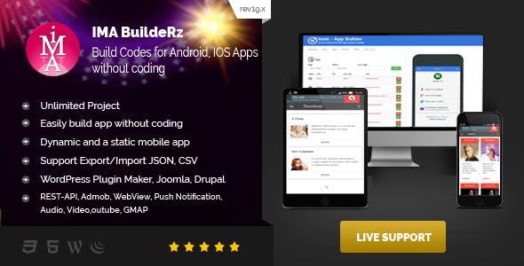 Ionic Mobile App Builder