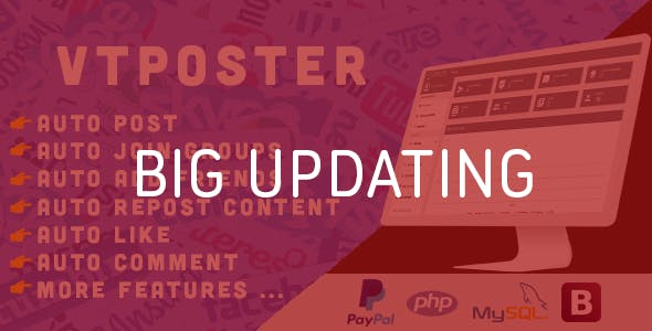 VTPoster - Facebook Marketing Tool - CodeCanyon Item for Sale
