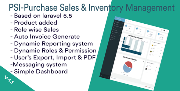 PSI-Purchase Sales & Inventory-management System free script download