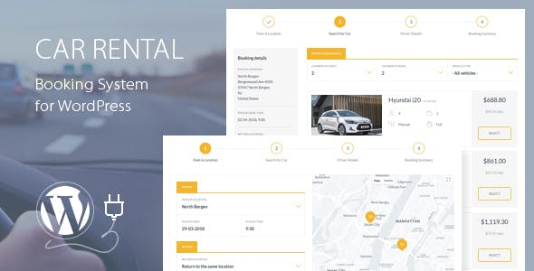 Car Rental Booking System for WordPress by QuanticaLabs | CodeCanyon