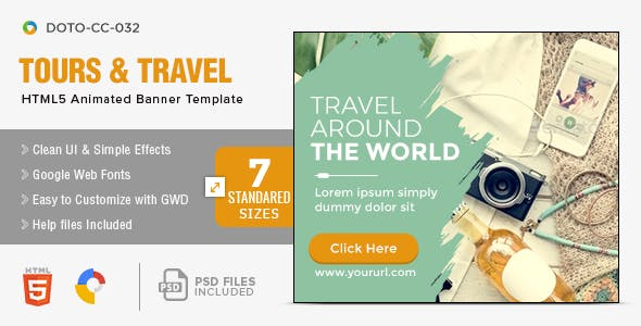 Travel Promotion Banners Pataka Banners
