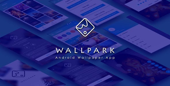 Wallpark - An android HD Wallpaper app with admin panel by W3Engineers