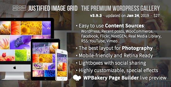 20dd46107937 Justified Image Grid - Premium WordPress Gallery - CodeCanyon Item for Sale