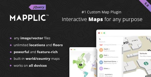 Mapplic - Custom Interactive Map jQuery Plugin