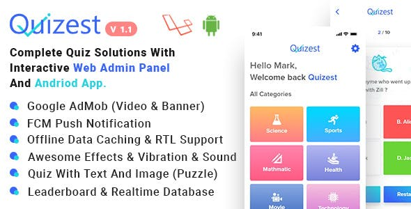 build quiz Free Download | Envato Nulled Script | Themeforest and
