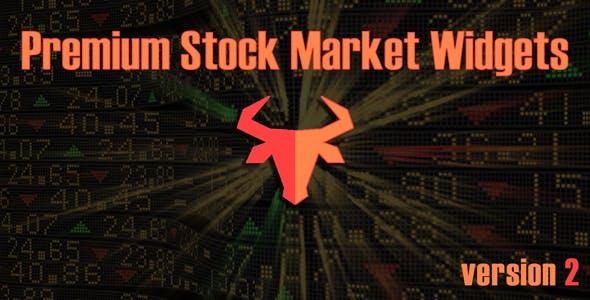 Premium Stock & Forex Market Widgets | WordPress Plugin by